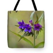 Purple Gromwell Tote Bag