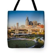 Nashville Morning Tote Bag
