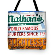Nathan's Sign Tote Bag