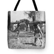 Native American Games Tote Bag