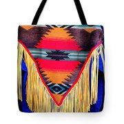 Native American Shawl  Tote Bag