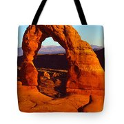 Natural Arch In A Desert, Delicate Tote Bag