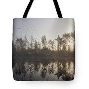 Natural Network Tote Bag