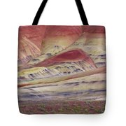John Day Fossil Beds Painted Hills Tote Bag