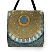 Naval Academy Chapel Side Dome Tote Bag