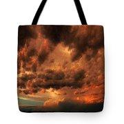 Nebraska Thunderset Tote Bag
