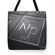 Neptunium Chemical Element Tote Bag