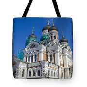 Nevsky Cathedral - Tallin Estonia Tote Bag
