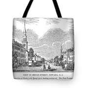 New Jersey Newark, 1844 Tote Bag