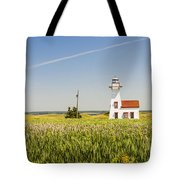 New London Range Rear Lighthouse Tote Bag