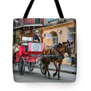 New Orleans - Carriage Ride Tote Bag