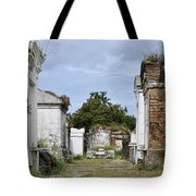 New Orleans Lafayette Cemetery Tote Bag by Christine Till