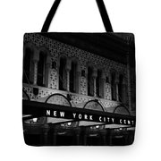 New York City Center Tote Bag
