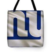 New York Giants Uniform Tote Bag