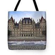 New York State Capitol Building Tote Bag
