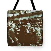 New York Stock Exchange 1963 Tote Bag