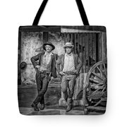 Newman And Redford Tote Bag