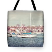 Newport Beach Panorama Tote Bag