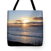 Newport Oregon Sunset Tote Bag