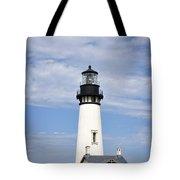 Newport Oregon Yaquina Lighthouse Tote Bag