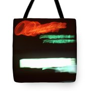 Night Lights Orange Drive-in 2 Tote Bag