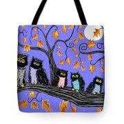 Night Owls Tote Bag