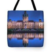 Night Palace  Tote Bag
