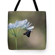 Nine-spotted Moth Tote Bag