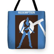 No246 My The Shawshank Redemption Minimal Movie Poster Tote Bag