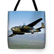 North American B-25g Mitchell Bomber Tote Bag