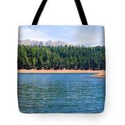 North Catamount Lake Tote Bag
