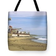 Nuclear Power Plant On The Beach, San Tote Bag