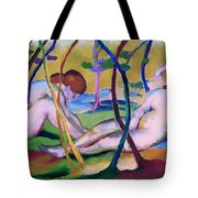 Nudes Under Trees Tote Bag