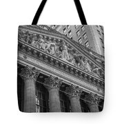 Nyse  New York Stock Exchange Wall Street Tote Bag