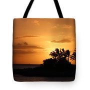 Oahu Sunset Tote Bag