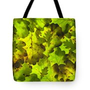 Oak Leaf Background Tote Bag