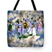 Oakland A's High Five Tote Bag