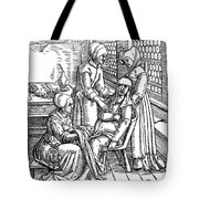 Obstetrical Chair Tote Bag