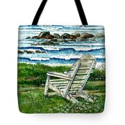 Ocean Chair Tote Bag