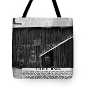 Odd Fellows Historical Building Tote Bag