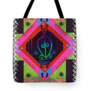 Odo Nyera Fie Kwan--- Love Does Not Get Lost On The Way Home Tote Bag