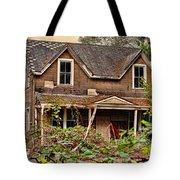 Old Abandon House Tote Bag