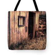 Old Barn Door Tote Bag