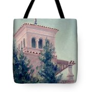 Old Bell Tower Tote Bag