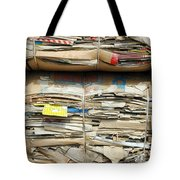 Old Cardboard Boxes Tote Bag