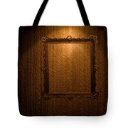 Old Frame On Retro Wall Tote Bag