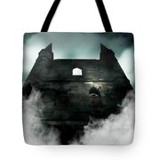 Old Haunted Castle Tote Bag