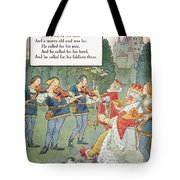 Old King Cole Tote Bag by Granger