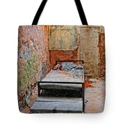 Old Prison Cell Tote Bag