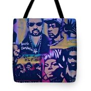 Old School Hip Hop 3 Tote Bag